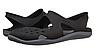 Женские летние шлепанцы Crocs Swiftwater Wave Women Shoe in Black