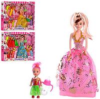 Набор кукла с платьями.Кукла набор,барби с коллекцией платьев. Детские куклы и аксессуары.