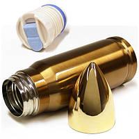 Термос в форме патрона, термос снаряд, фото 1