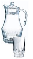 Набор для напитков Arcopal Victoria 7пр. (Кувшин 1,8л и 6 стаканов 270 мл)