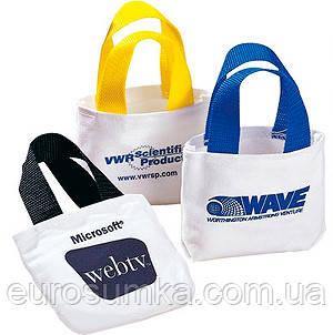 Подарочные сумочки из хлопка от 100 шт.