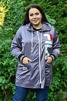 Женская ветровка свободного кроя, с 42 по 98 размер, фото 1