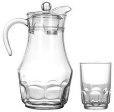 Набор для напитков Arcopal Roc 7пр. (Кувшин 1,8л и 6 стаканов 270 мл)