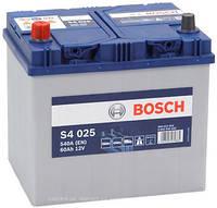 Аккумулятор автомобильный BOSCH 6CT-60 Asia S4 L 540A