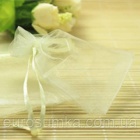 Подарочные мешочки из органзы от 300 шт.
