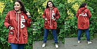 Парка женская свободного кроя, с 42по 98 размер, фото 1