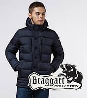 Зимний мужской пуховик Braggart Dress Code - 31610 темно-синий, фото 1