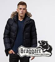 Мужской пуховик Braggart Dress Code - 24712 темно-синий, фото 1