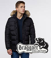 Мужской пуховик зимний Braggart Dress Code - 45610 черный, фото 1