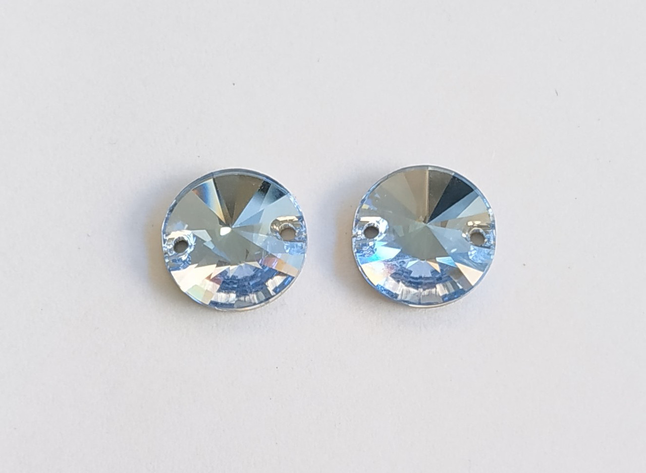 Rivoli 12mm Light Sapphire