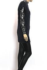 Жіноча вязана туніка без рукавів , фото 3