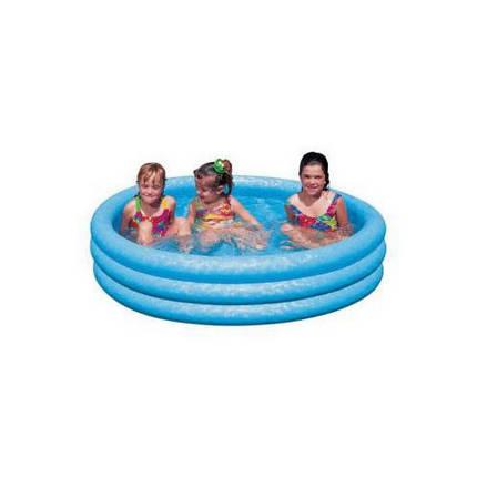 """Детский надувной бассейн Intex 59416 """"Хрустальный"""" , фото 2"""
