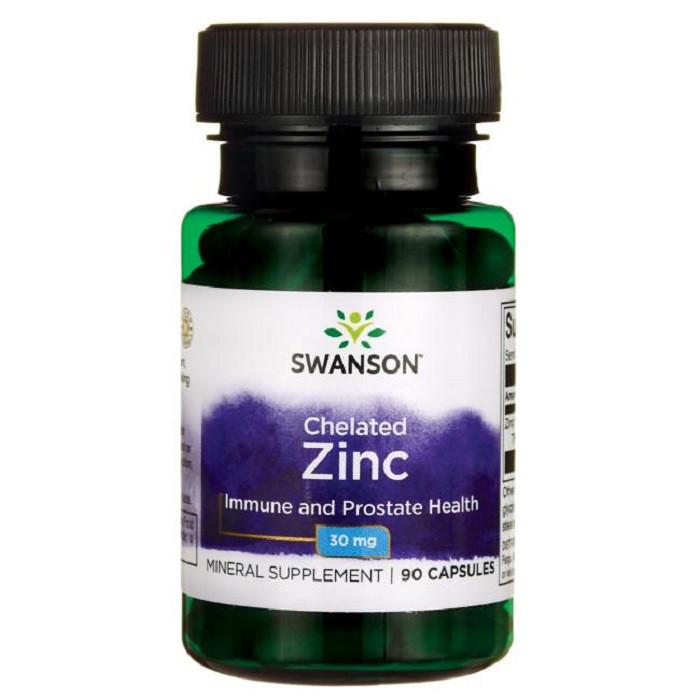 Swanson Ultra Albion Chelated Zinc Glycinate Цинк глицинат в хелатной форме 30 мг  90 капс
