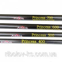 Удочка Mikado Princess 7м карбоновая 10-30г с кольцами