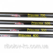 Удочка Mikado Princess 630 карбоновая 5-30г (с кольцами)