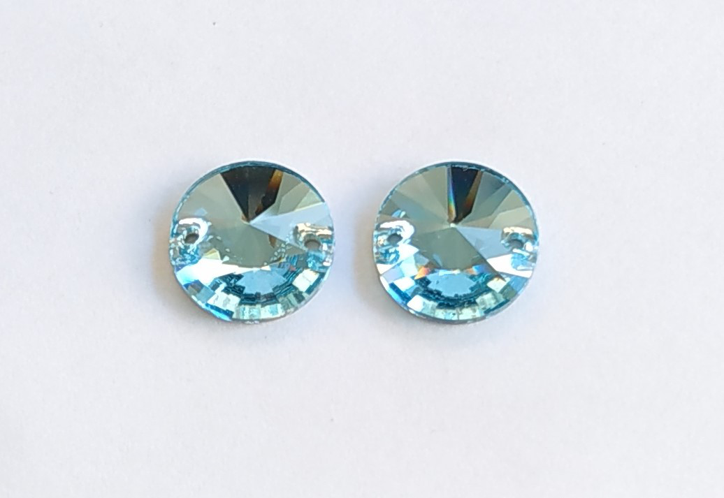 Rivoli 12mm Aquamarine