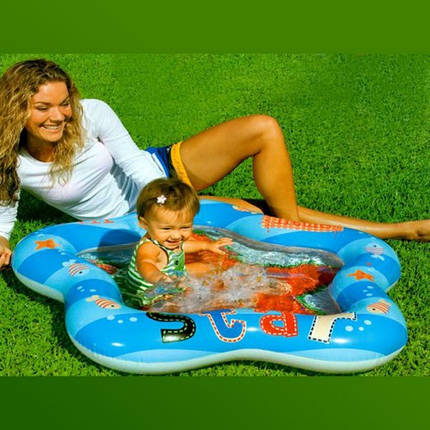 Детский надувной бассейн Intex, 59405 (102х99х13см), фото 2