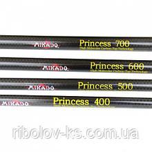 Удочка Mikado Princess 4м с кольцами карбон 10-30г