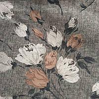 Мебельная ткань для мягкой мебели рисунок на рогожке ширина 150 см сублимация Ш-3078, фото 1