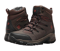 Ботинки Columbia Gunnison Omni-Heat. Цвет -коричневый. До -32С