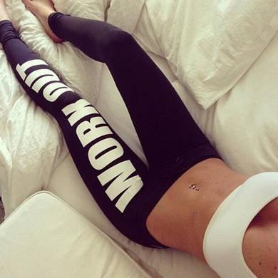 Леггинсы для фитнеса work out