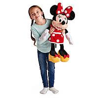 Мышка Минни Маус в красном платье 68 см Оригинал Disney Minnie Mouse Plush - Red - Large