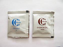 CC Brow стійка крем - фарба для брів в саші. Коричневий