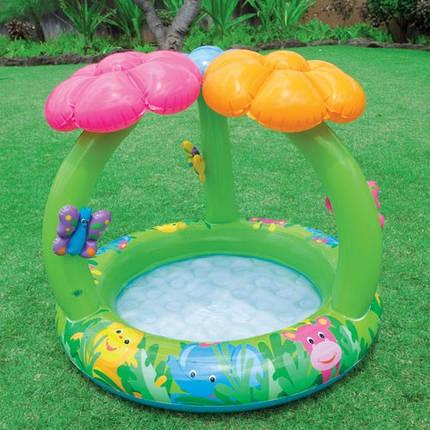 Детский надувной бассейн с навесом Intex, 57419, фото 2