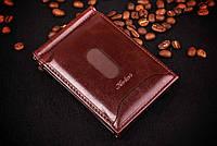 Зажим для денег с визитницей , кожа, фото 1