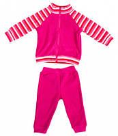 Комплект домашней одежды для девочки, Danaya, розовый в полоску (80 р.) (075G_80-48)