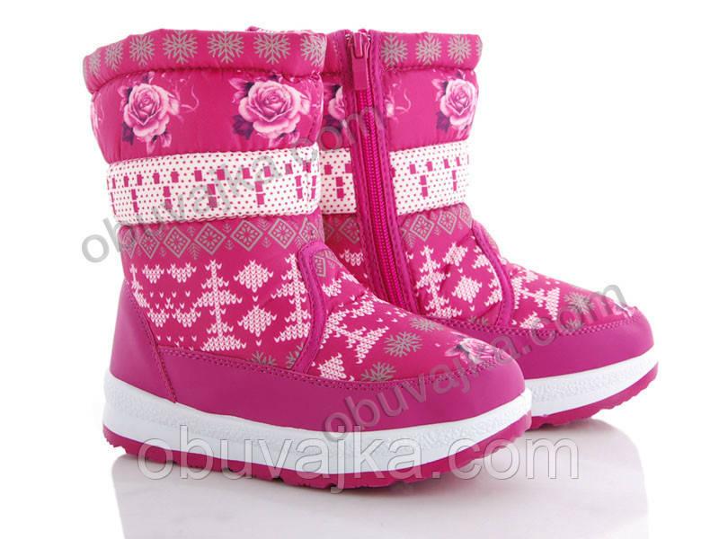 Зимняя обувь Дутики для детей 2019 от фирмы Hengji(31-36)