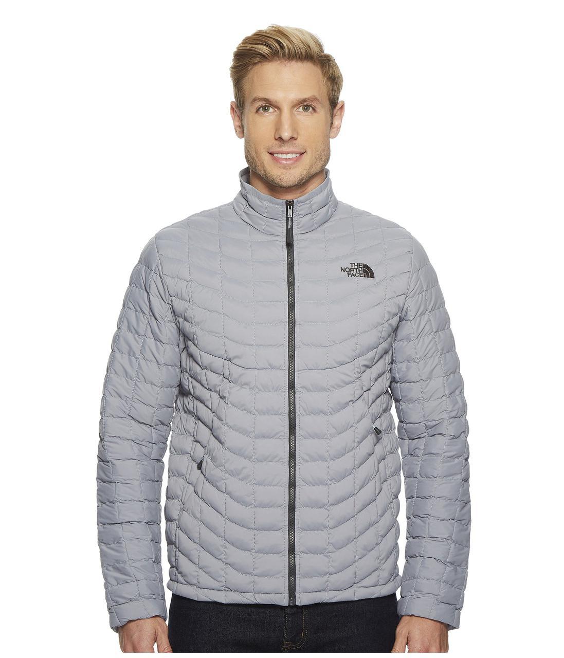 f4f80c99e9bea Зимняя Куртка The North Face Stretch ThermoBall Full Zip Mid Grey -  Оригинал — в Категории