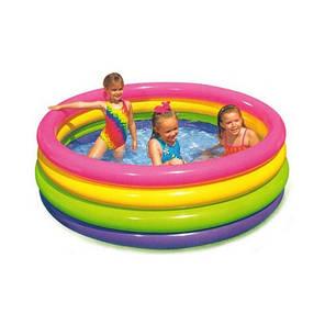 """Детский надувной бассейн Intex, 56441 """"Радуга"""" (168х46см), фото 2"""