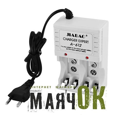 Зарядное устройство Jiabao A-612, 4*AA/AAA, 9V, от 220V, фото 2