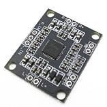 Підсилювач звуку РАМ8610 2*15 Вт D клас, стерео модуль., фото 2