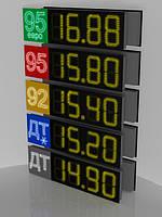 Светодиодные ценники для табло азс