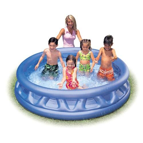 Детский надувной бассейн Intex 58431 с ребрами
