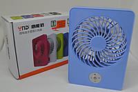 Вентилятор настольный USB WN361-365 с аккумулятором (60)K16(16227)