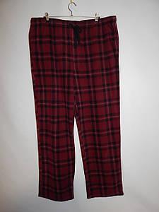 Мужские домашние теплые брюки Croft&Barrow 004MDB р.58-60