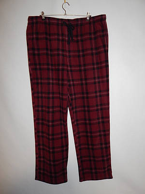 Мужские домашние теплые брюки Croft&Barrow 004MDB р.58-60 (батал)