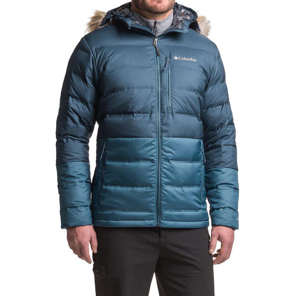 Мужская Куртка Columbia North Protection Omni-Heat 700 Fill Power ... 76fce36c7c4ac