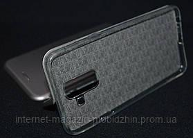 Чехол-книжка Samsung A605/A6 Plus 2018 серый G-Case