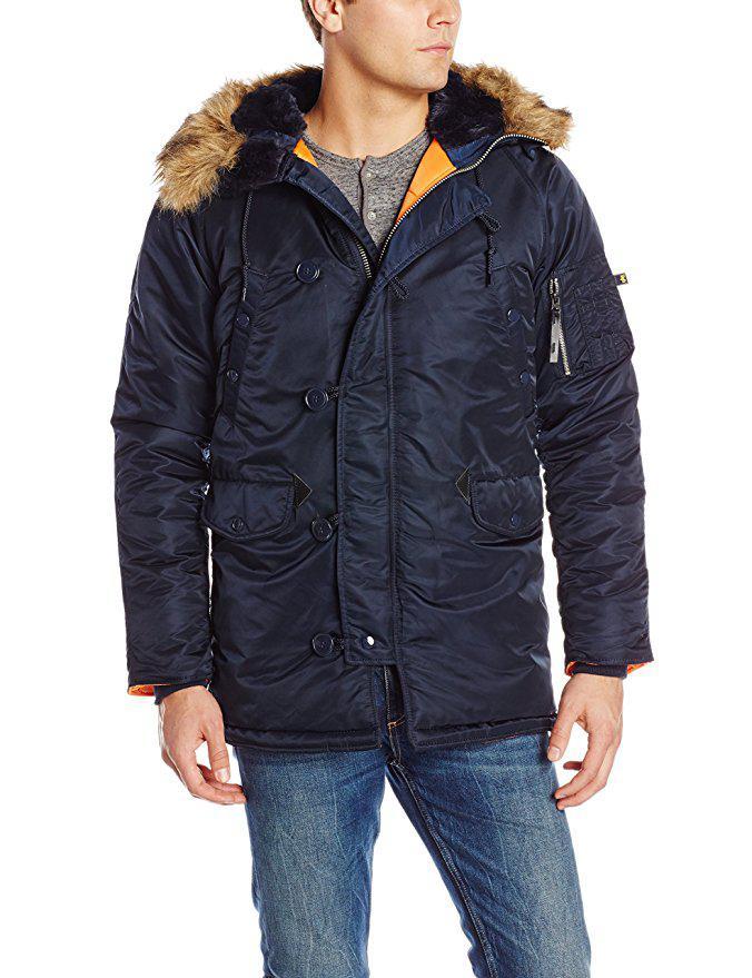 Куртка-парка Alpha Industries N-3B Slim-Fit Parka. Оригинал.