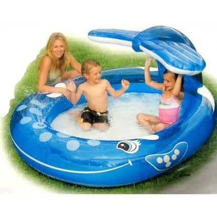 """Детский надувной бассейн Intex, 57435 """"Кит"""", фото 2"""