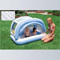 """Детский надувной бассейн Intex, 57406 """"Пляж"""" (163х112х102см), фото 2"""