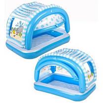 """Детский надувной бассейн Intex, 57406 """"Пляж"""" (163х112х102см), фото 3"""