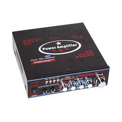 Усилитель звука Bluetooth UKC SN-308BT USB SD MP3 караоке Bluetooth