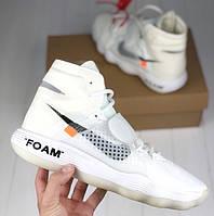 "Баскетбольные кроссовки Nike Hyperdunk x Off White Collab ""The Ten"".  Живое фото (Реплика ААА+)"