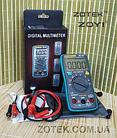 ZOTEK ZT102 Защищённый Мультиметр цифровой тестер с термопарой True RMS ( Richmeters RM102 AN8002 )