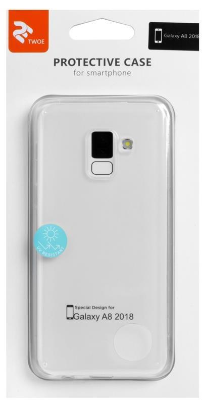 Чехлы для Galaxy A Series (остальные модели) 2E TPU Samsung A8 A530 clear